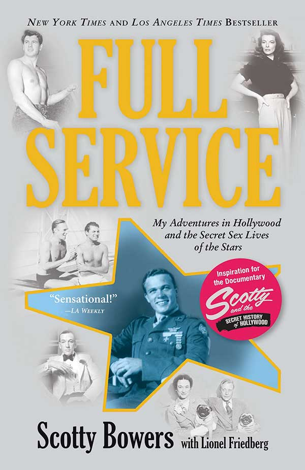 Front cover Image of Book Full Service showing hollywood stars